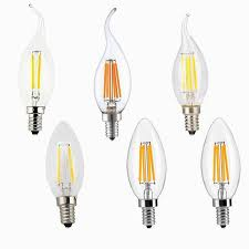 best of filament candle led bulbs chandelier e12 e14 e27 base lamp c35 for chandelier