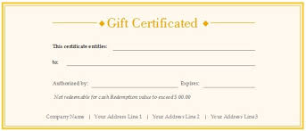 Gift Certificate Word Template Free Impressive Free Editable Certificate Template Word 48 SearchExecutive