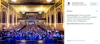 Weinberg Center Seating Chart Nov 15 Instagram Recap Going Behind The Scenes With