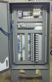 industrial control panel red lion 15 hmi and allen bradley image 1