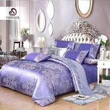 purple bed covers silk bedding set luxury duvet cover light purple bed linen purple bed linen