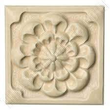 Decorative Relief Tiles Fashion Accents Universal Flower Deco 100 X 100 Dal Tile Decorative 2