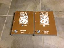 cadillac catera repair manual 2000 cadillac catera factory oem shop service repair manual set 3 0l v6