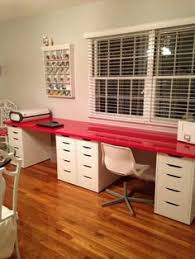 white table top ikea. Double Desk On Top Of Ikea Alex Drawers. (Imagine A White Desktop. Table Ikea D