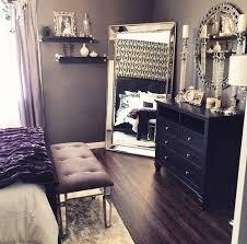 black furniture decor. beautiful bedroom decor black dresser silver mirror candles white furniture e