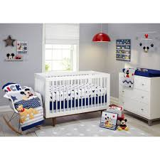 cute baby mickey mouse crib bedding set babies r us minnie happy day liner
