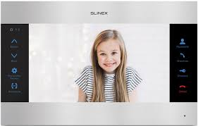 Монитор <b>видеодомофона Slinex SL</b>-10M, <b>Silver Black</b>