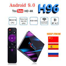 LEMFO H96 MAX Smart TV Box Android 9.0 Rockchip RK3318 4GB 64GB Bluetooth  4.0 Support HDMI 2.0 RKMC 18.1 4K H.265 HD Google Play - buy at the price  of $23.12 in aliexpress.com