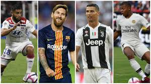 l fekir lionel messi cristiano ronaldo and kylian mbappe will all be in action