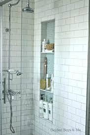 tiling niches bathroom niche ideas awesome shower your house idea bathtub tile wall tall blue brown