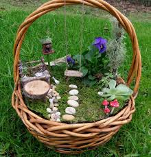 fairy gardens ideas. Fairy Garden With Swing This, That And Everything Inbetween Gardens Ideas