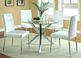 glass kitchen tables canada round glass kitchen tables small round dining table and chairs gorgeous glass