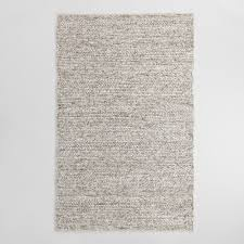 view in gallery gray wool rug kitchen statement rugs that add texture