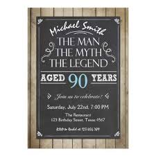 Birthday Party Evites 90th Birthday Invitations 30 Fabulous Invites To Impress