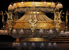 one other image of phantom the opera chandelier