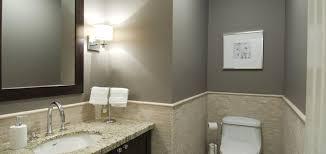 bathroom wall paintBathrooms with Gray Walls  Contemporary  bathroom  Benjamin