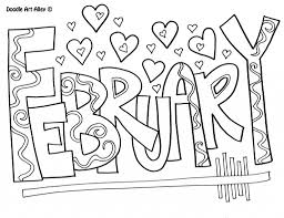 Small Picture February Coloring Pages Photo Image February Coloring Pages at