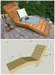 wood chaise lounge. Wooden Chaise Lounge Chair Plans Sign In To See Details And Gallery Including Inspirations Triumph Wood Double Outdoor Dark Furniture Red Eames Style Molded