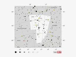 Star Chart Png The Ara Constellation Located In The Between The Scorpius