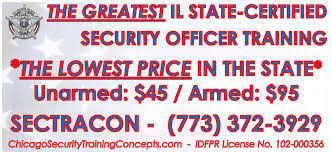 security officer employment training chicago il security training concepts