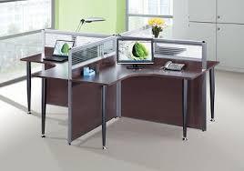 work table office. 4 Way Workstation (dark) Work Table Office