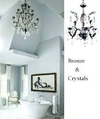 bathroom lighting chandelier elegant bathroom chandeliers ideas gallery of full size of best bathroom for chandelier