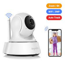 SANNCE 2K ev güvenlik IP kamera Wi Fi kablosuz Mini ağ kamerası gözetim  Wifi 3MP gece görüş güvenlik kamerası bebek izleme monitörü|night vision  cctv camera|security ipsurveillance wifi - AliExpress