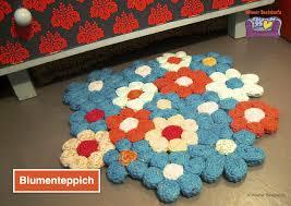 Blumenteppich Dicker Bunter Restefresser Für Anfänger Mit Geduld