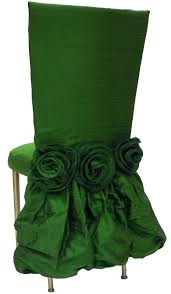 emerald slipper chair would be a gorgeous gown