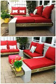 do it yourself patio furniture plans beautiful diy outdoor cinder block lounge 10 diy concrete block