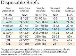 Abena Abri Form Size Chart Tranquility Slimline Original Adult Disposable Brief Lg 12 Ct