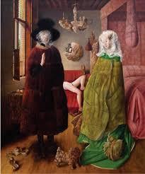 Benjamin Dominguez | Rembrandt art, Arnolfini portrait, Art