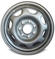Road Ready Car Wheel For 2010 2014 Ford F150 17 Inch 7 Lug Gray Steel Rim Fits R17 Tire Exact Oem Replacement Full Size Spar