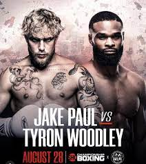 Jake Paul v Tyron Woodley Is Aug. 29 ...