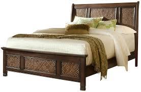 Kingston Bedroom Furniture Kingston Isle Havana Brown Sleigh Bedroom Set P195 80 81 83