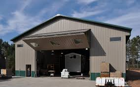 barn sliding garage doors. Bi-fold Door For Pole Barn Sliding Garage Doors