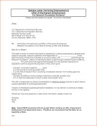 Letter Employment Certification Letter Template
