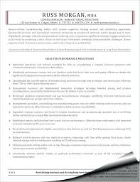 Resume Canada Sample Manufacturing Operations General Manager Resume ...