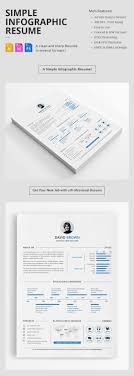 Resume Template With Photo 100 Creative Infographic Resume Templates 82