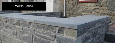 slate wall garden wall coping stone