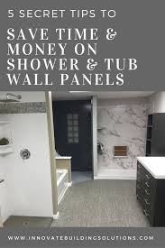 Shower And Tub Surround Panel Tips To Save Time And Money Bathroom - Bathroom remodeling cleveland ohio
