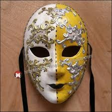 Decorative Face Masks Party Mask Masquerade Venetian Full Face Maskhand Draw 100d Venice 3