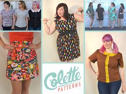 Collette Patterns Amazing These Are A Few Of Our Favorite Things Colette Patterns That Is
