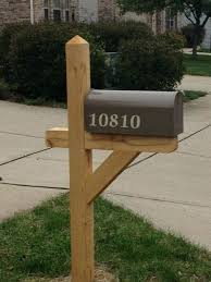 double mailbox post. Mailbox Post Plans Posts Gallery Solutions Regarding Designs 9 Double