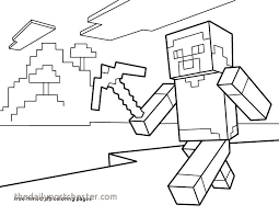 Minecraft Coloring Pages Printable Awesome Free Minecraft Coloring