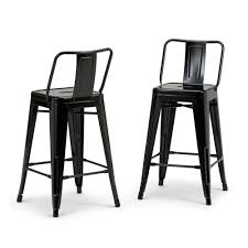 metal counter height stools. Black Metal Counter Height Stool (Set Of 2) Stools G