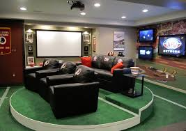 man cave furniture ideas. Love The Astro Turf Flooring And Raised Seating. Man Cave Furniture Ideas N