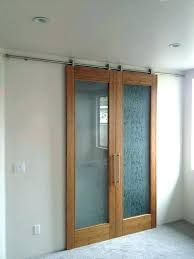 frosted glass sliding barn door wardrobe with doors style closet double interior
