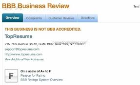 Top Resume Reviews Delectable 60 TopResume Reviews And Complaints Pissed Consumer