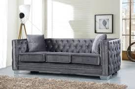 blue velvet tufted sofa large size of sofas online navy green11